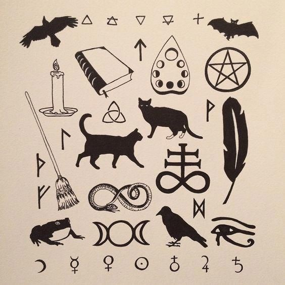 Wiccan Symbols Wiccan Symbols Tattoo friday the 13th tattoos