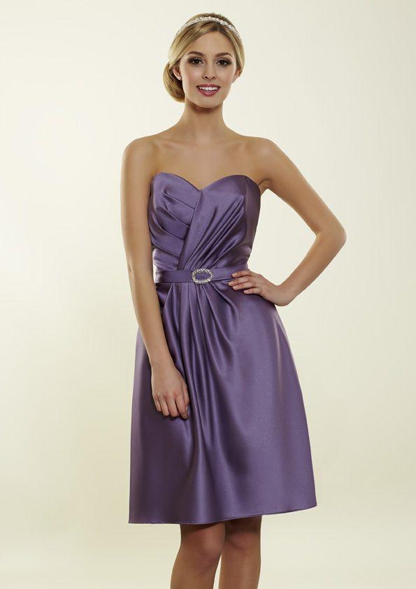 New Purple Bridesmaid dress. Romantica of Devon short stain style ...