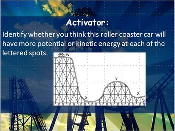 Work, Power, Potential, and Kinetic Energy Practice ...