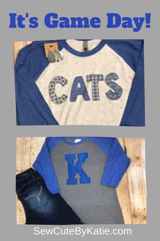 Cheer For Your Team In Cute Spiritewear On Game Day Spiritwear Gameday Sewcutebykatie Uk Spirit Wear Altering Clothes School Spirit Wear