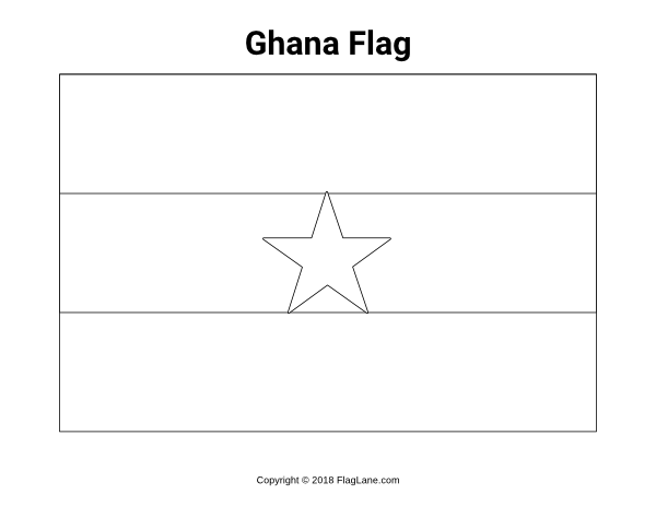 Free Printable Ghana Flag Coloring Page Download It At Https Flaglane Com Coloring Page Ghanaian Flag Flag Coloring Pages Ghana Flag Flag Printable