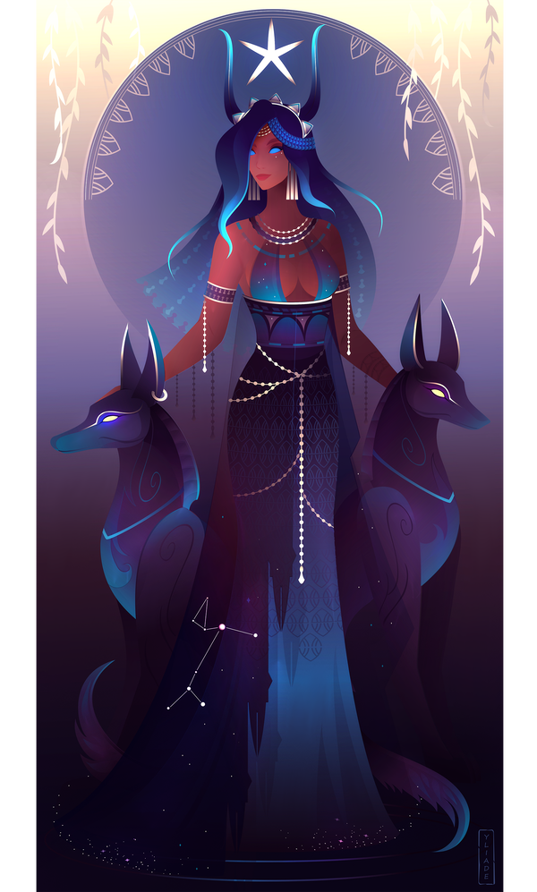 Sopdet ~ Egyptian Gods by Yliade on DeviantArt