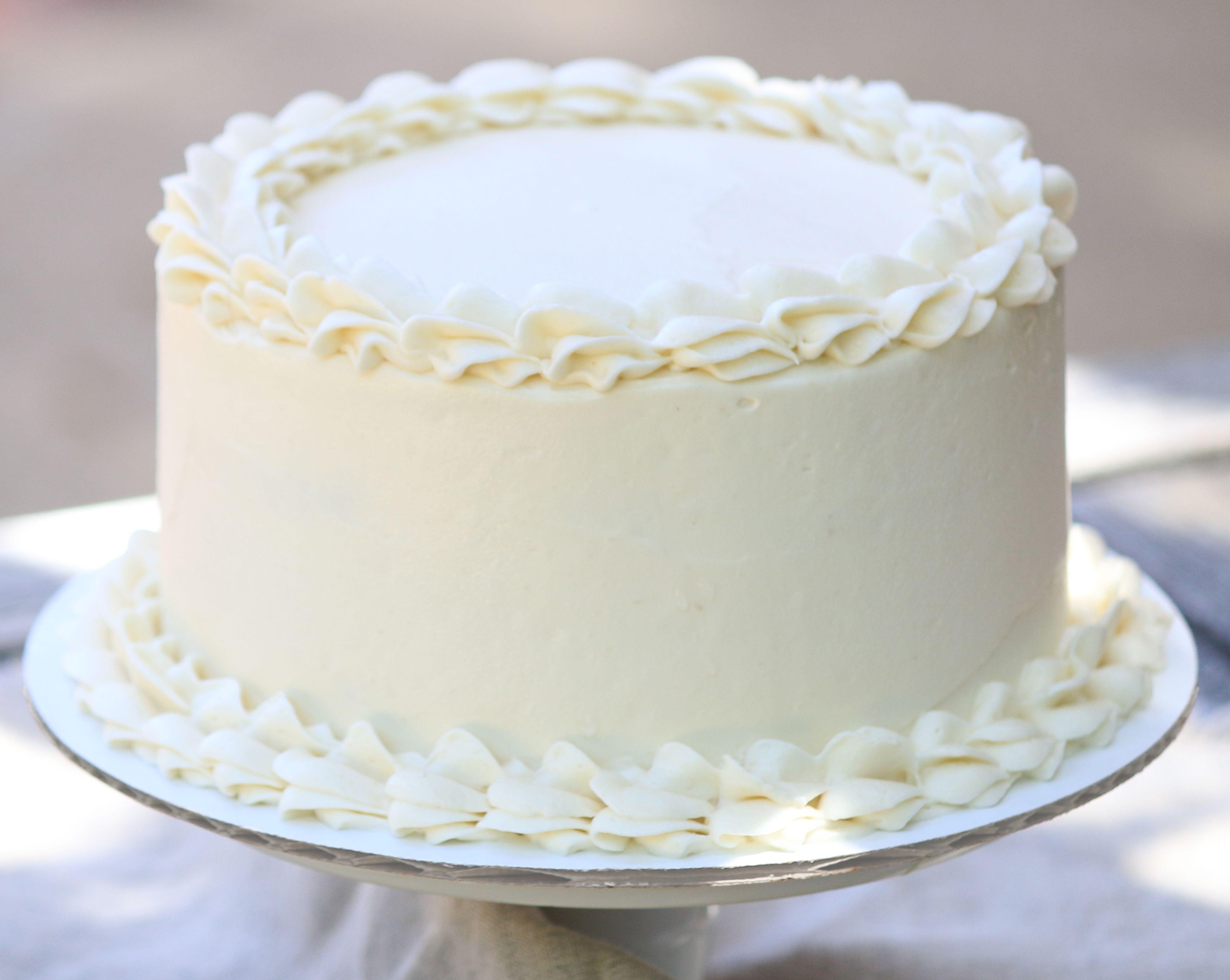 Fabulous Ultimate Vanilla Cake Recipe Tasty Chocolate Cake Vanilla Personalised Birthday Cards Akebfashionlily Jamesorg