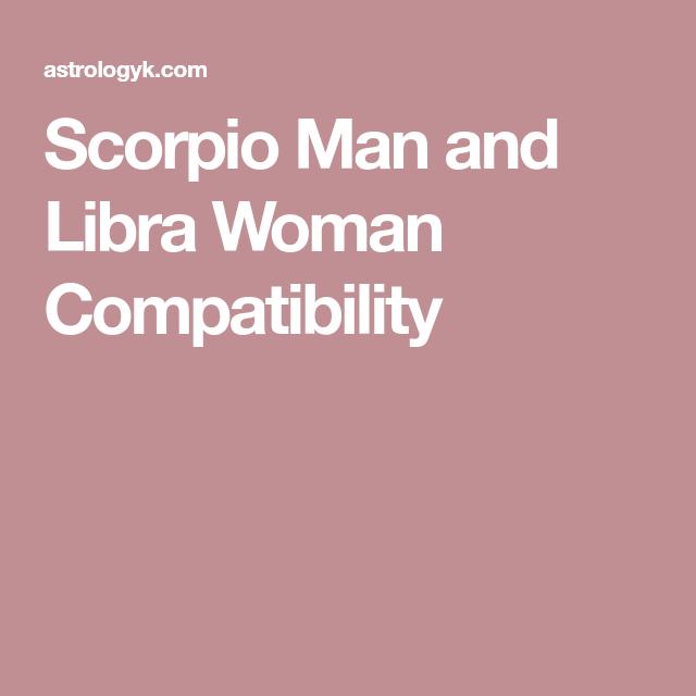 Scorpio man loves libra woman