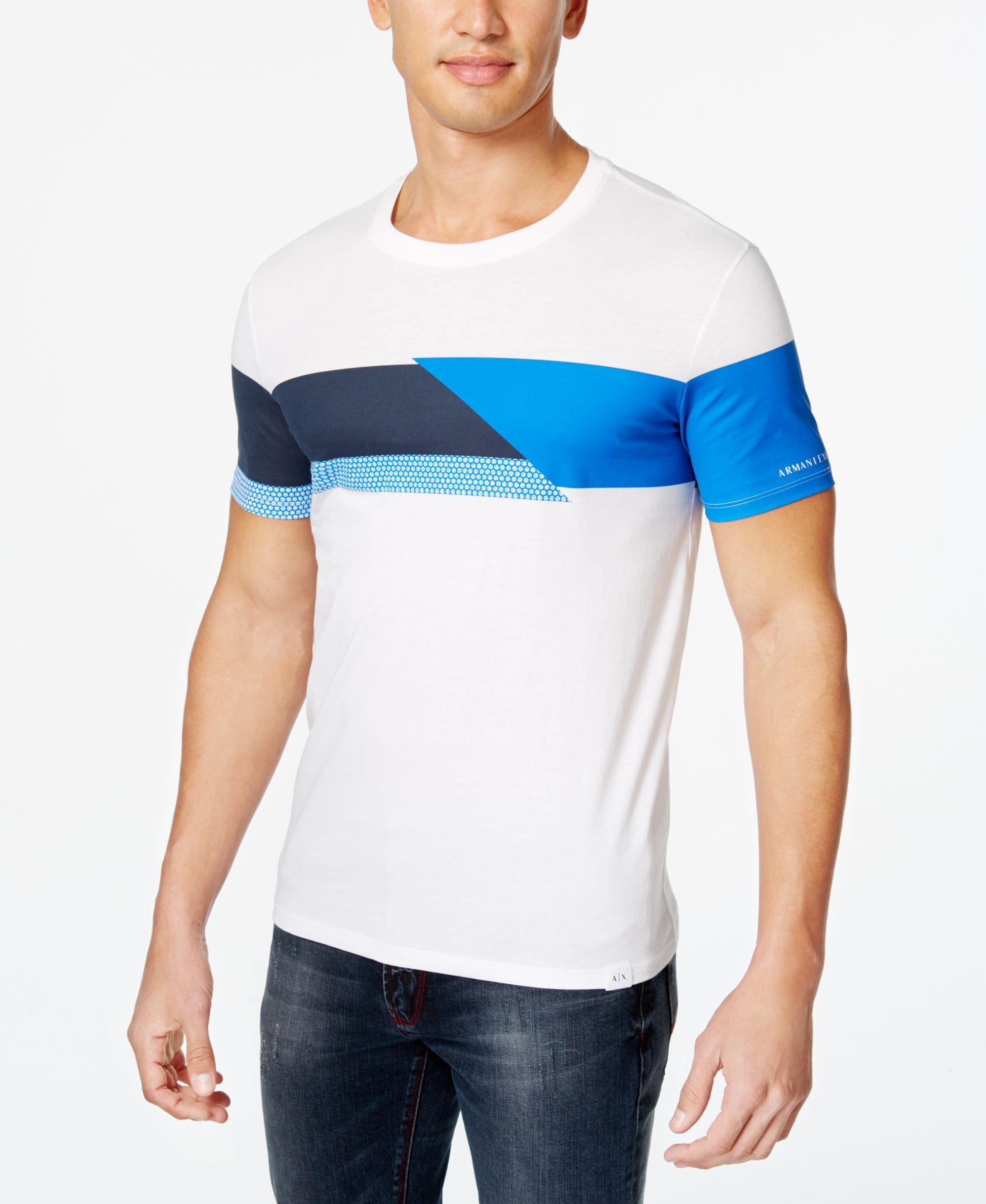 It Armani Print ShirtClothes Exchange Men's T All Across Graphic 80wXNnOkPZ