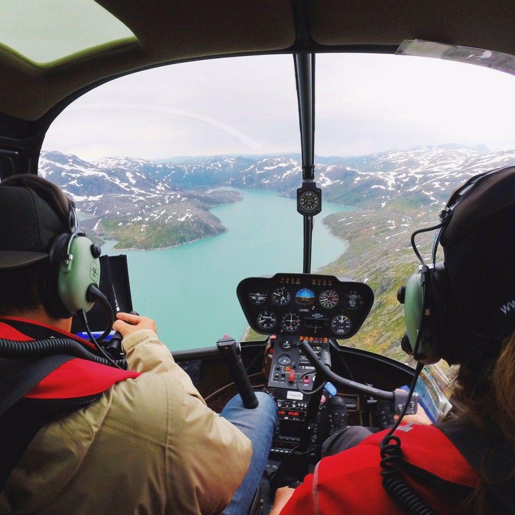 Glaciers in Norway.
