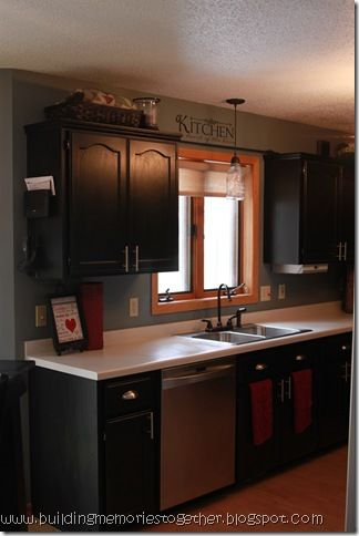 Rust Oleum Kitchen Cabinet Transformation From An Ugly Oak Kitchen
