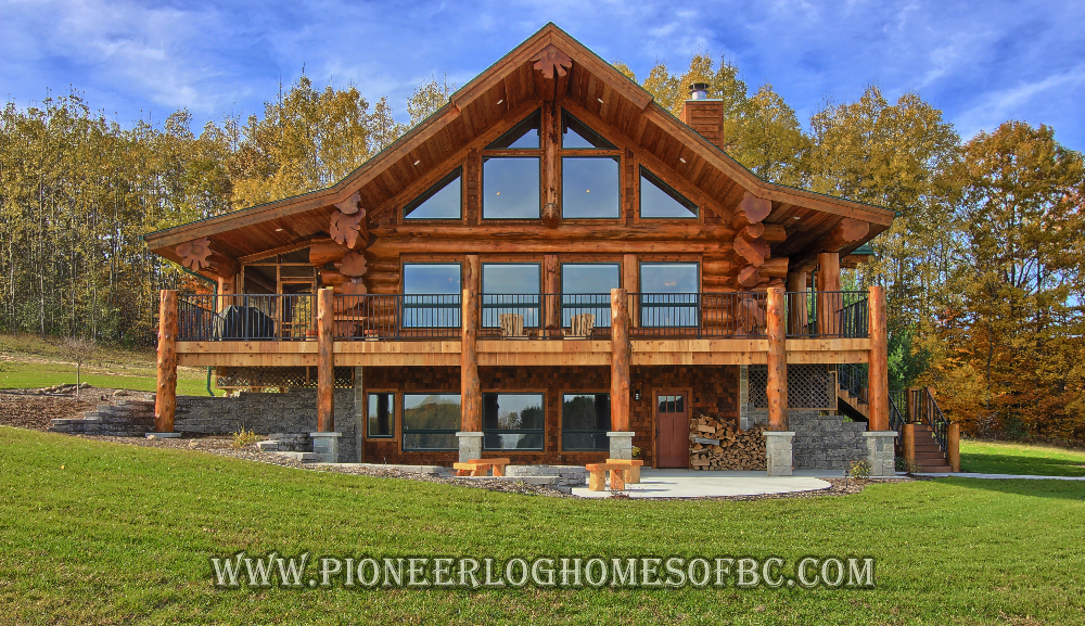 Custom Log Homes Picture Gallery Log Cabin Homes Pictures Bc Canada Log Cabin Plans Log Homes Log Cabin Homes