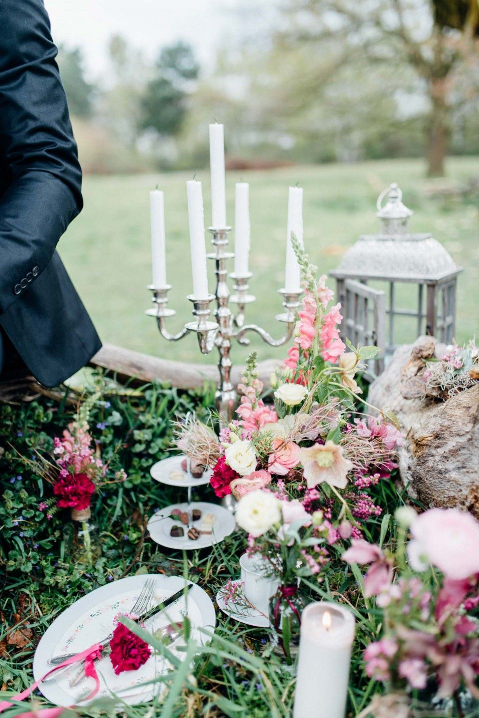 Bohemian Magie Hochzeitstraume In Pink Wedding Table Decor