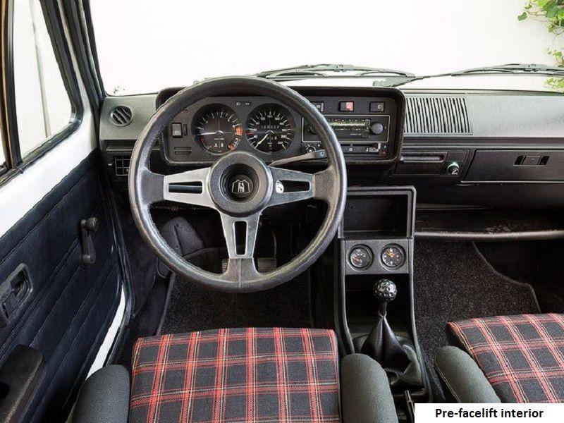 Golf Gti Mk1 Pre Facelift Interior Volkswagen Golf Mk2 Golf Gti Mk1 Volkswagen Golf Mk1
