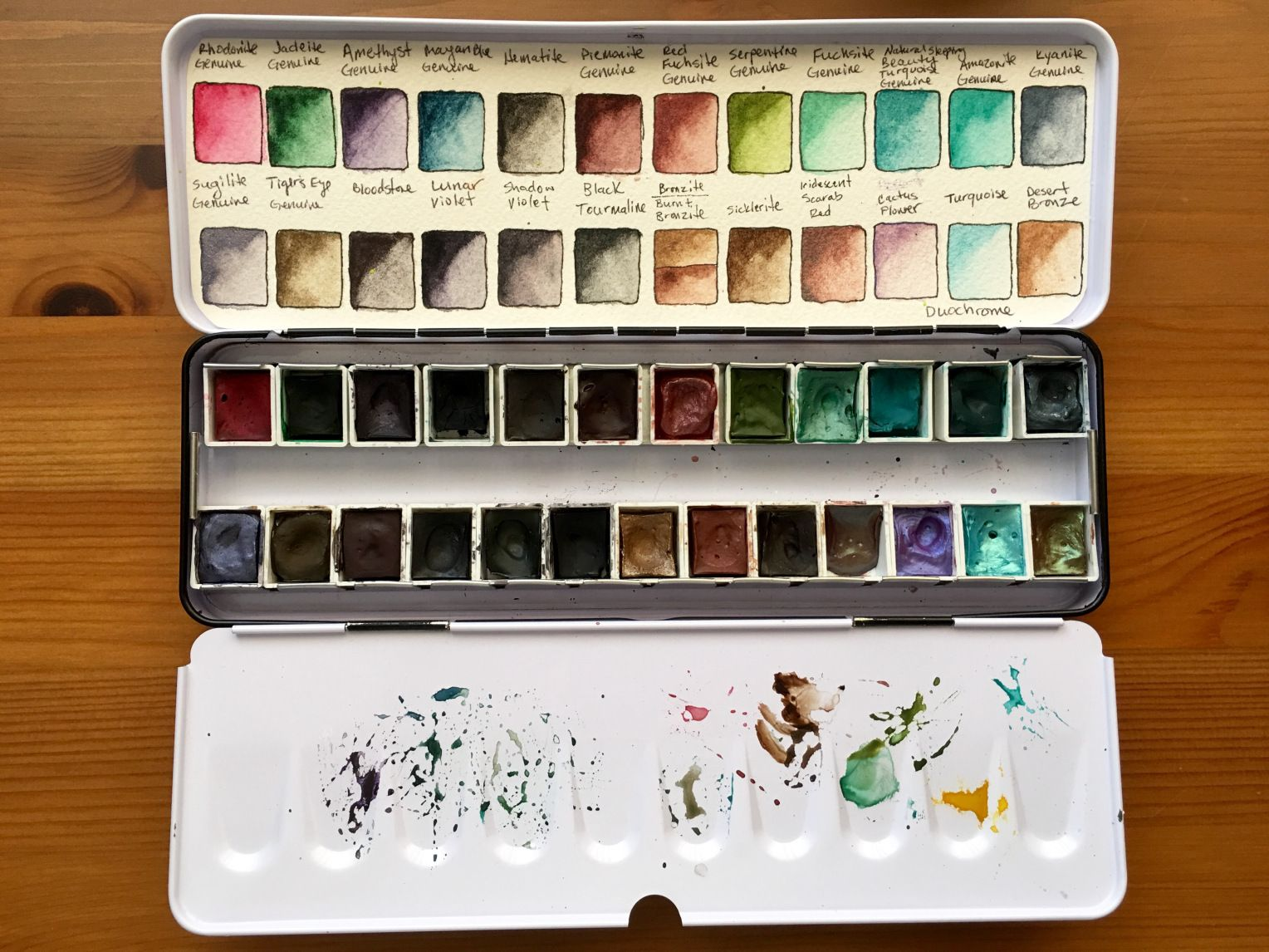 Doodlewash Review Daniel Smith Extra Fine Watercolors Part Ii