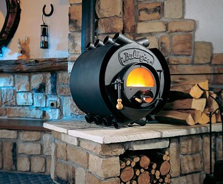 These unique wood burning stoves are handcrafted in Germany and have simple  yet very effective design - These Unique Wood Burning Stoves Are Handcrafted In Germany And