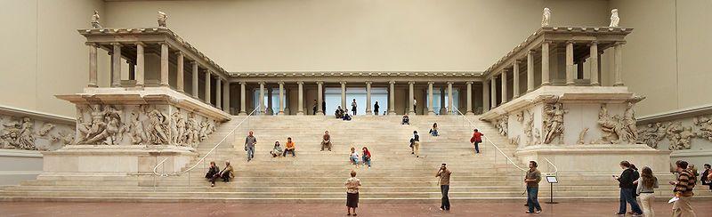 Altar Of Zeus Pergamonmuseum Berlin Germany Pergamon Pergamon Museum Pergamon Museum Berlin