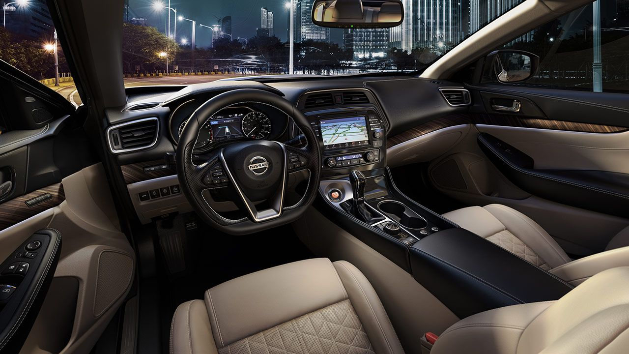 2016 Nissan Maxima Features Interior Usa