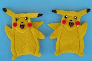 Pikachu puppet must make diy pokemon pinterest - Pokemon famille pikachu ...