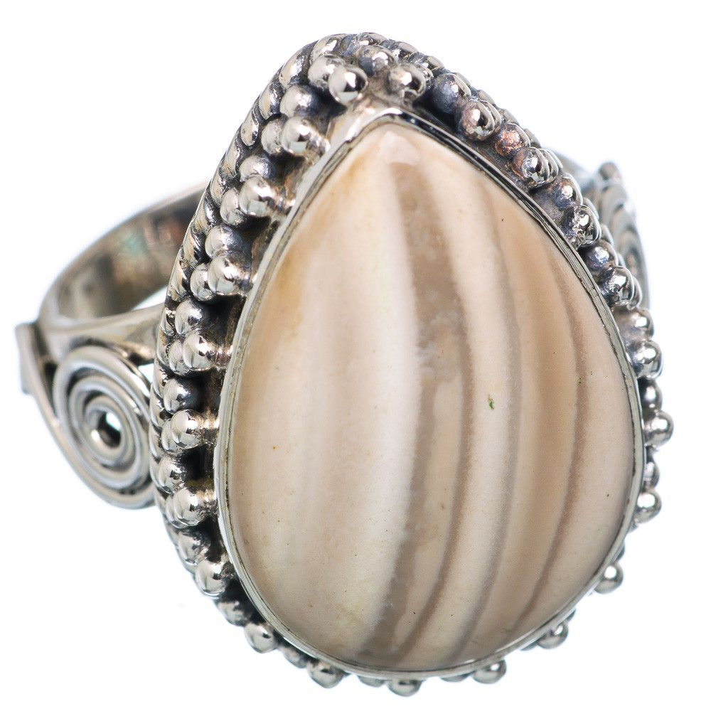 Imperial Jasper 925 Sterling Silver Ring Size 8.25 RING670252