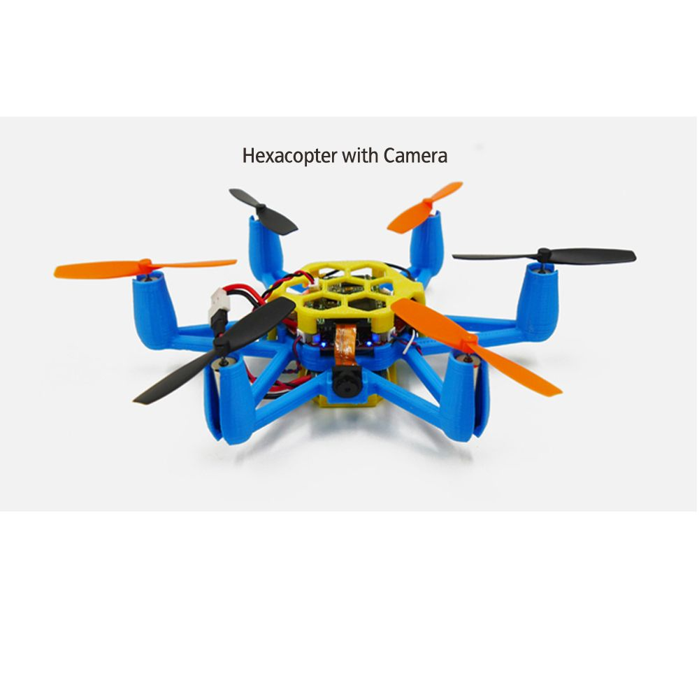 Flexbot Hexacopter With Camera Is Among The First Mini 3D Printed RC Drones In World