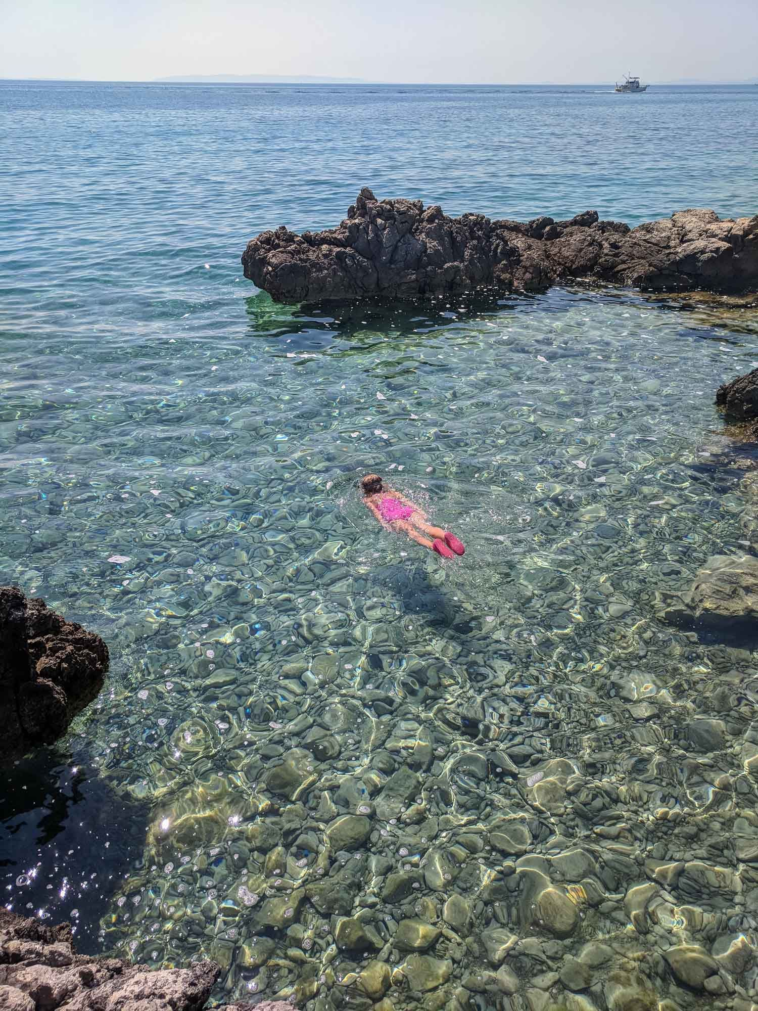 Best Pag Beaches For Kids. Croatian Island of Pag - Journey of a Nomadic Family