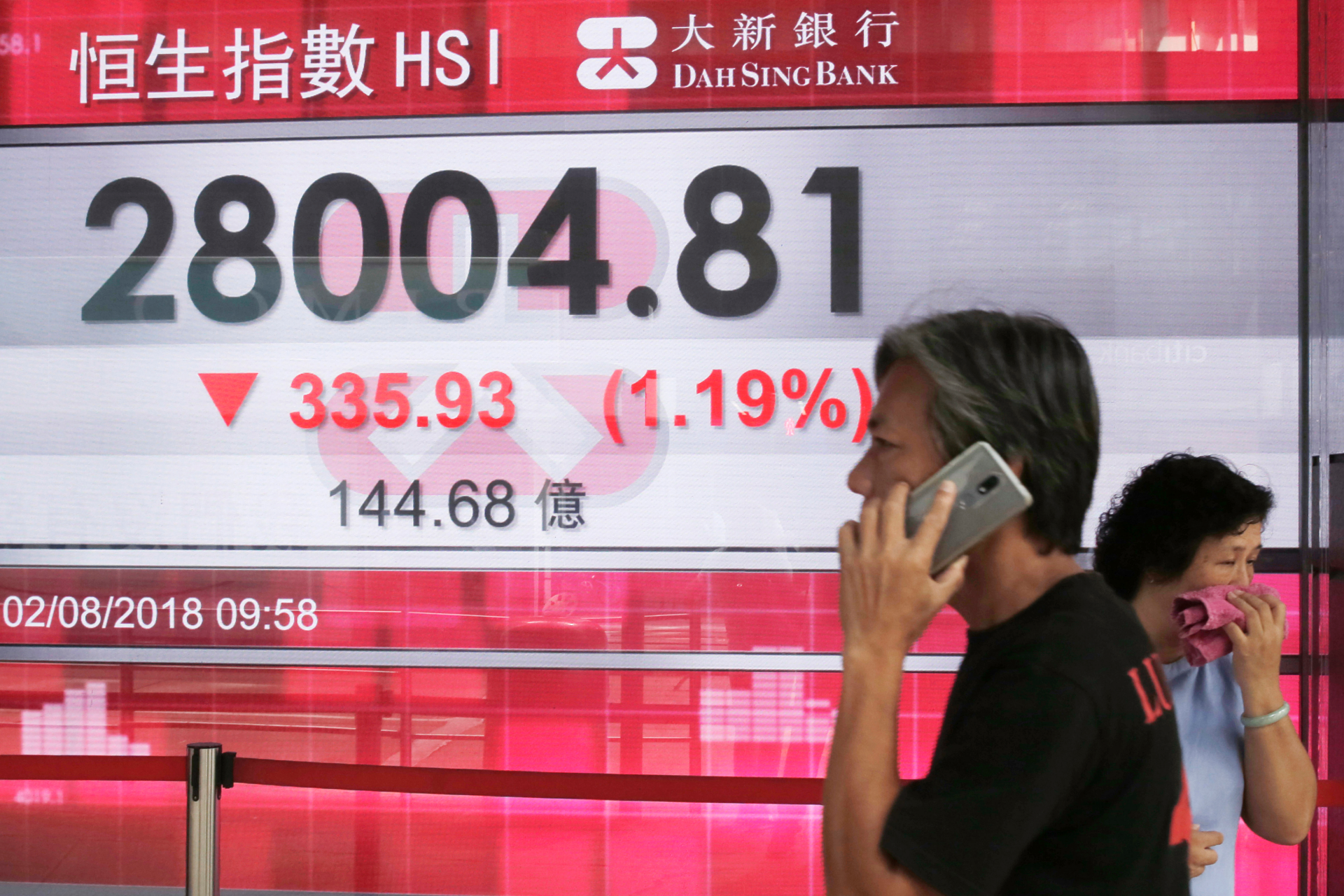 Asian markets extend losses on ChinaUS trade jitters