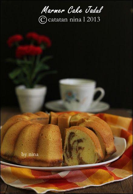 Resep Marmer Cake : resep, marmer, MARMER, JADUL, Makanan, Manis,, Lezat,