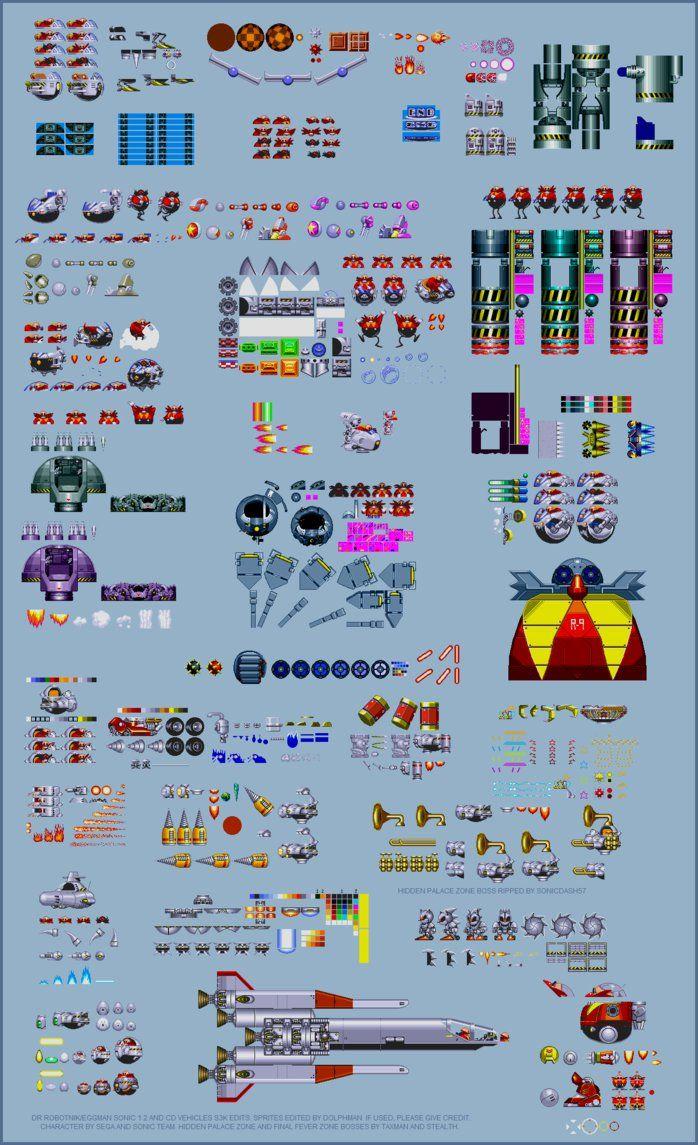Dr. Rbotnik/Eggman vehicles (S3K Edits) by retrobunyip ...