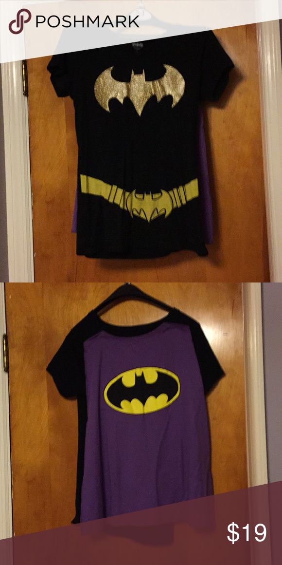 a2ee684578b1 Size xl bargirl t shirt with cape. Used condition. Non smoking house. I'm  selling a wonder woman one like it as well.glittery ...