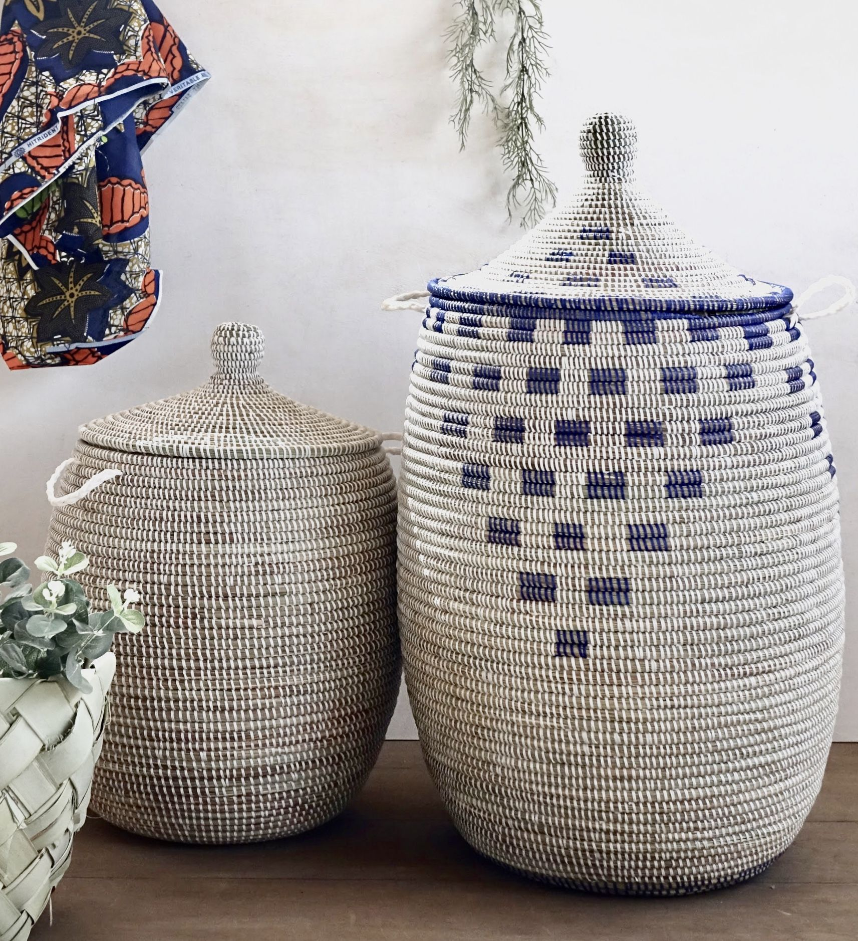 Beautiful Laundry Basket Can Hold Numerous Items And Decorate Your