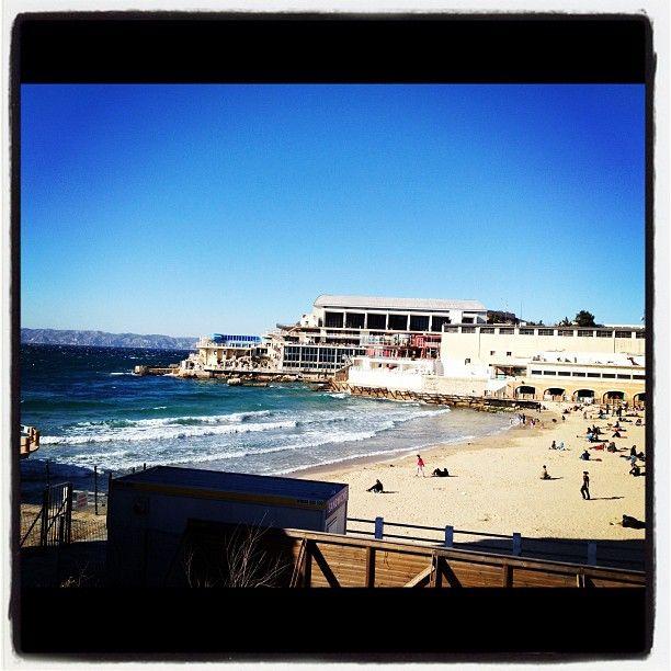 La plage des Catalans (Marseille)