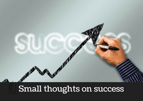 Small Thoughts On Success In English Checkout These Best One Line