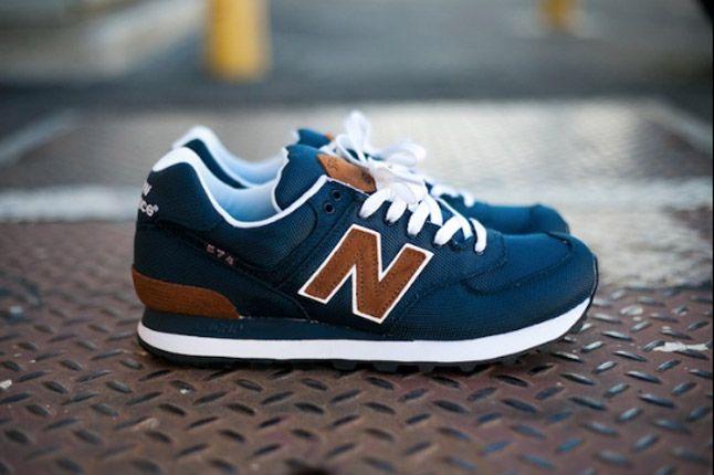 new balance navy blue 574