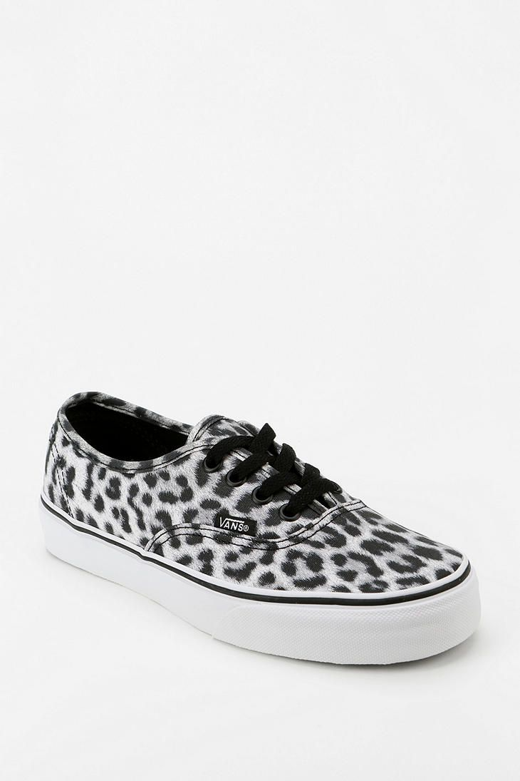 low priced efacb 3b4ad Vans Authentic Leopard Print Women's Sneaker | Shoes in 2019 ...