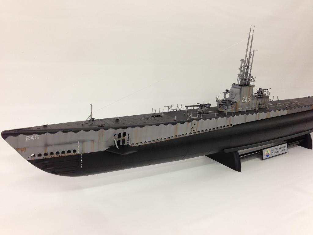 revell 1/72 gato class submarine. | kids | scale model ships