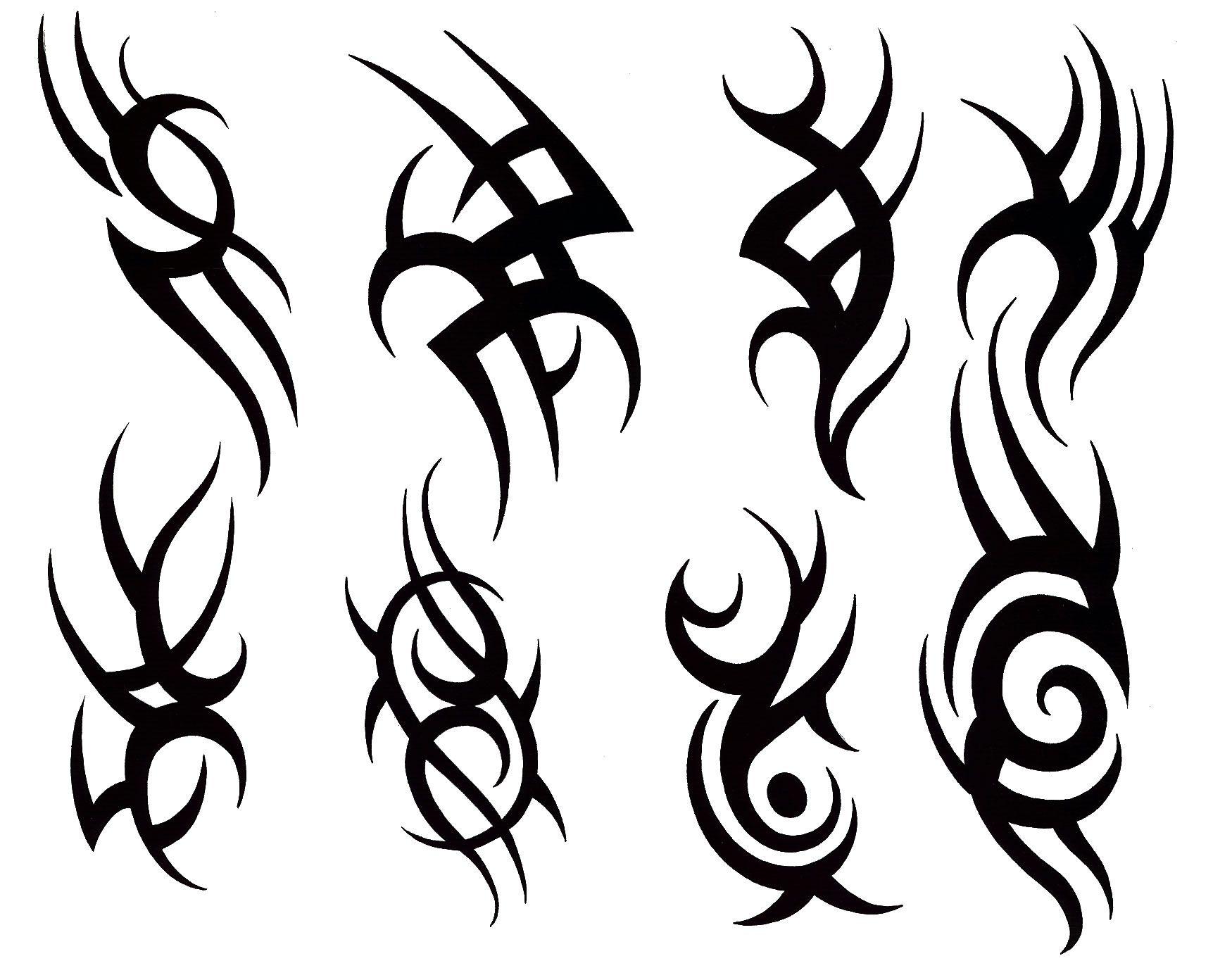 Tribal Dragon Tattoo Cool Tribal Tattoos Tribal Tattoo Designs Small Tribal Tattoos