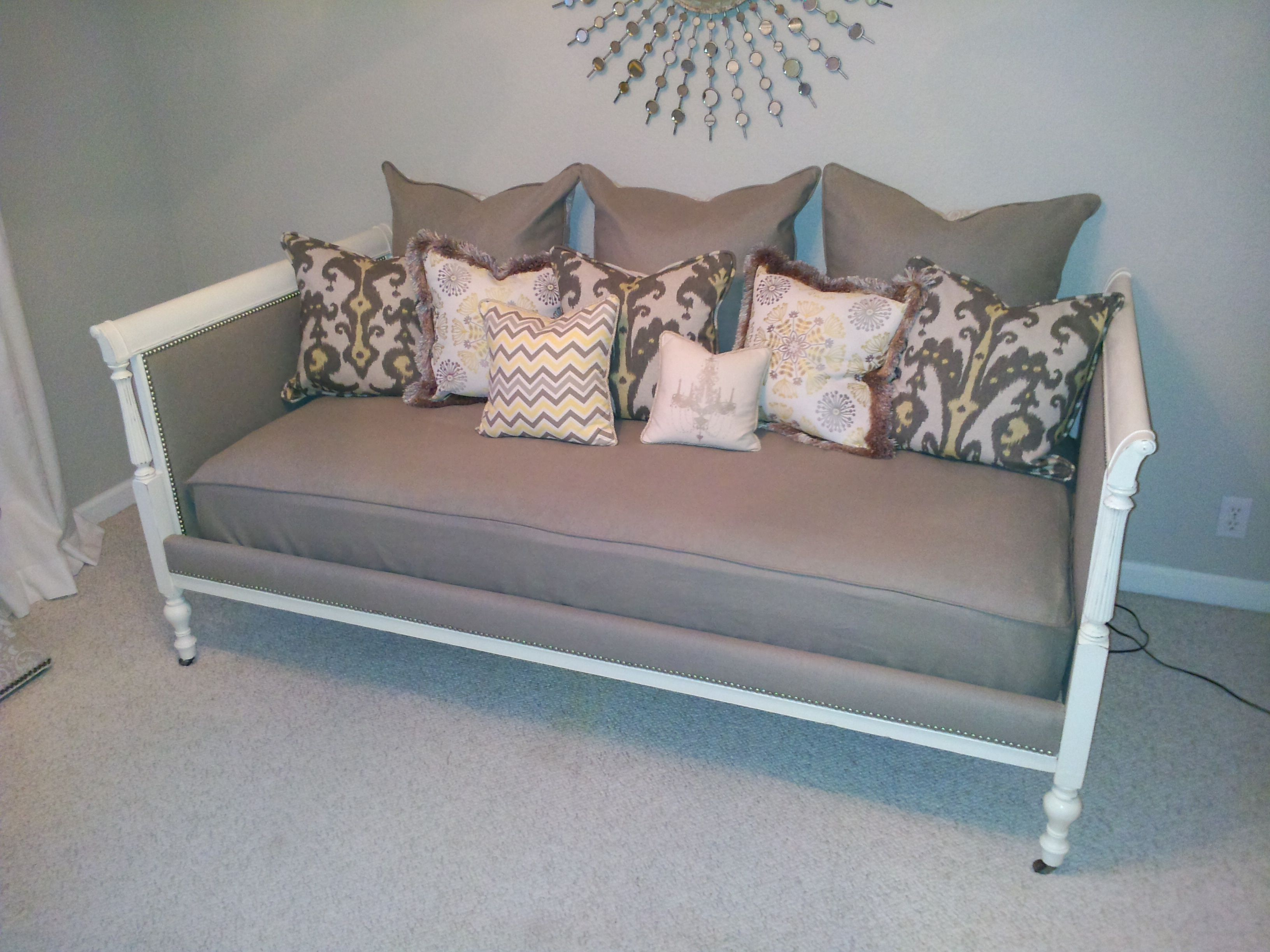 diy daybed sofas lounge sofa slipcovers  decorating ideas daybe
