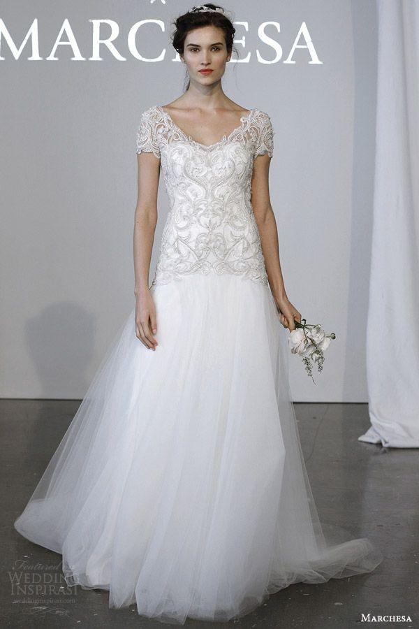 Marchesa Bridal Spring 2015 Wedding Dresses | Marchesa bridal, 2015 ...
