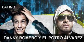 Danny romero y El Potro Álvares alcanzan el Número 1 en el Top Latino de la Cartelera Record Report