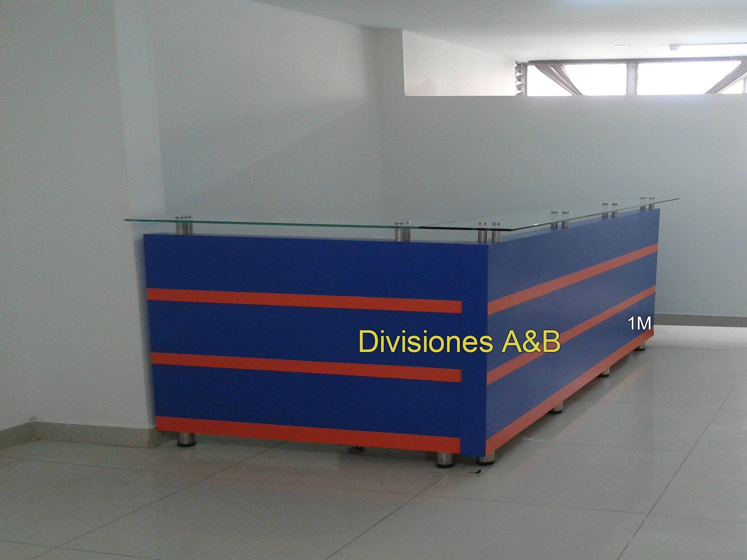 Recepcion En Ele Medidas 1 90 X 1 50 Counter Mobiliario Para  # Muebles Odontologicos Colombia