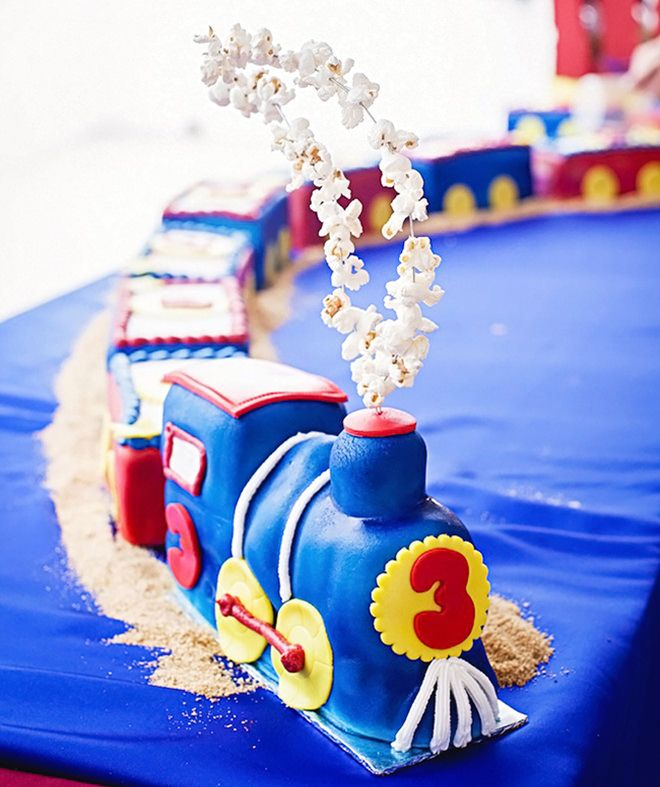 Ideas For Making A Train Cake