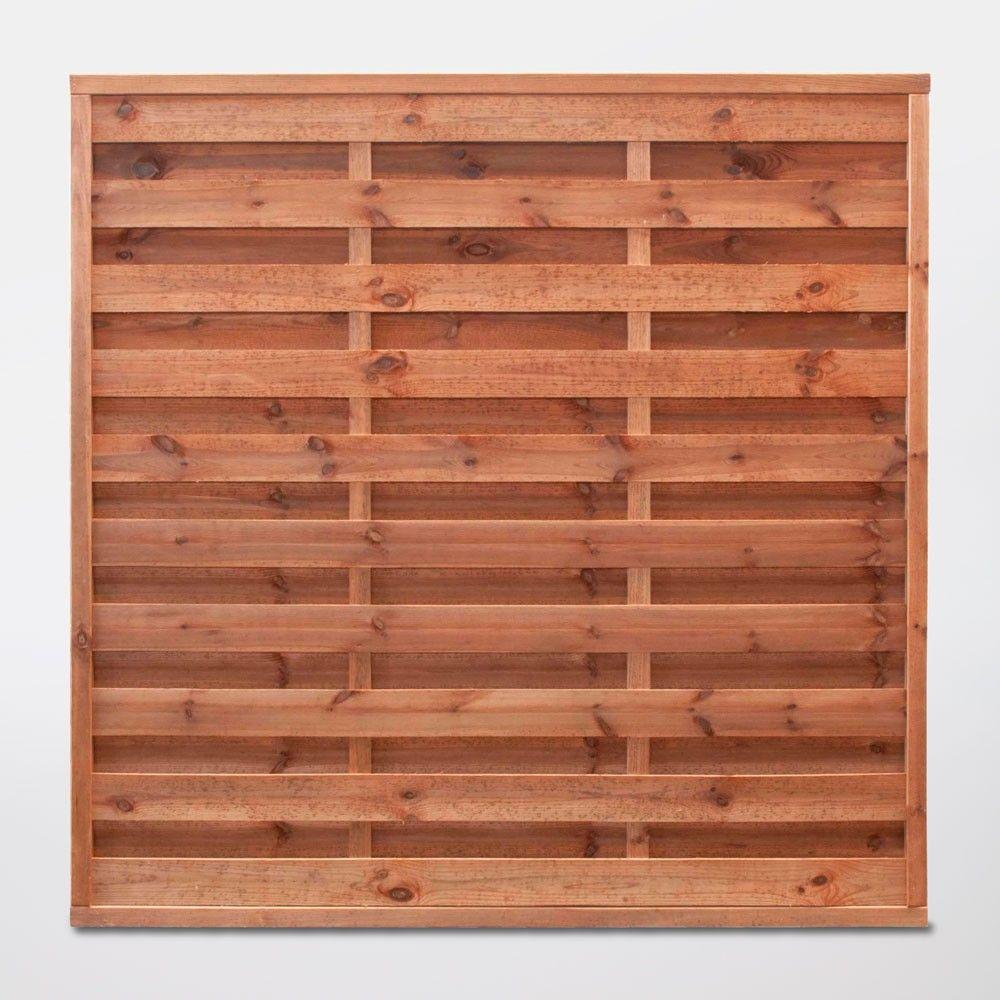 Panel De Madera Arve 180 X 180 Cm Marrón Jardín Y Exterior Paneles De Madera De Madera Madera