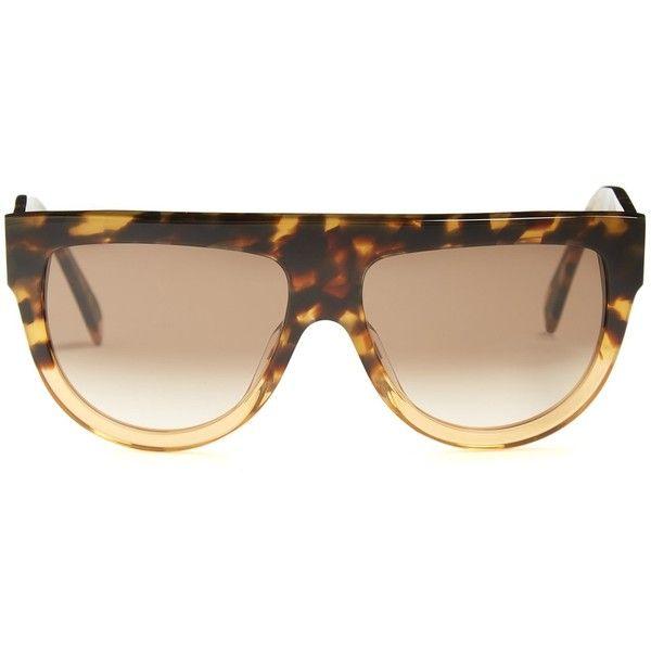 Shadow D-frame acetate sunglasses Celine pTW2y
