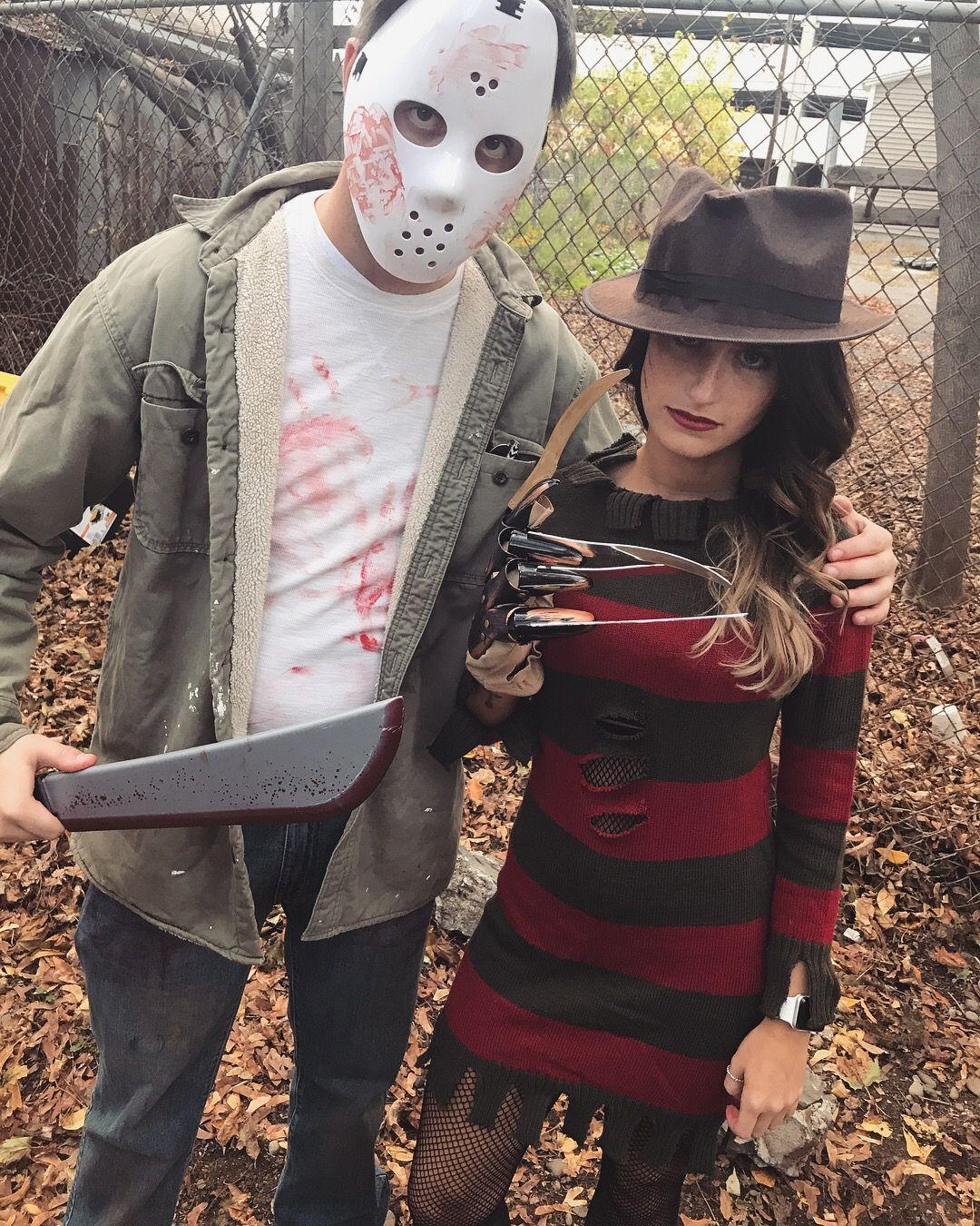 Freddy Vs Jason Couplescostume Halloween Possibilities In