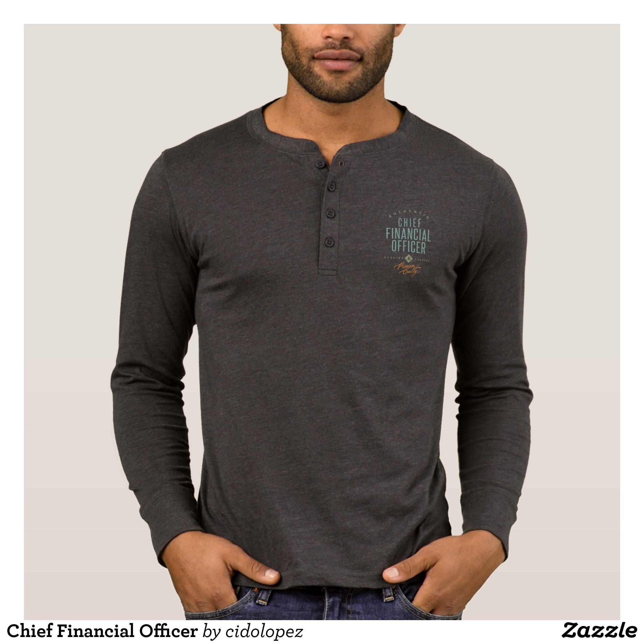 Chief financial officer tshirt fashion graphic