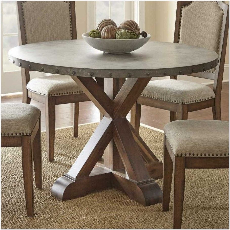 54 Inch Round Pedestal Dining Table Set Dining Rooms Ideas Round