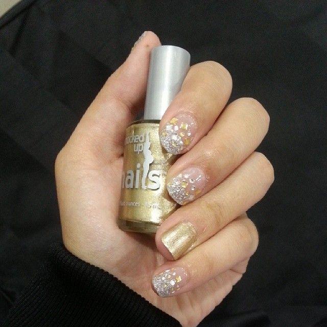Pin On Knocked Up Nails