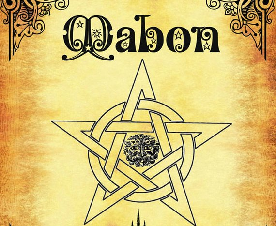 Mabon-Autumn Equinox, 12 Pages Book of Shadows - Wiccan Weel of the Year- BOS PDF #maboncelebration