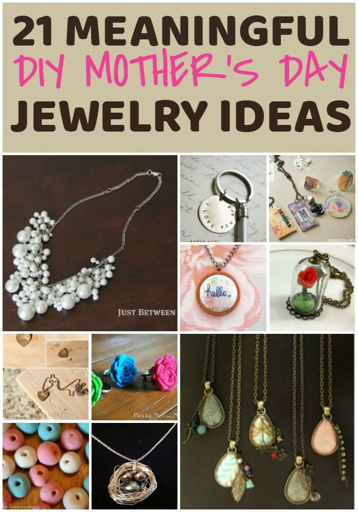 ffcde8469 So many great ideas for DIY jewelry for mom, even great crafts for kids to  make! via @resincraftsblog