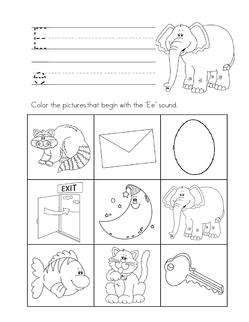 ABC Worksheet A.doc | Kiddos! | Pinterest