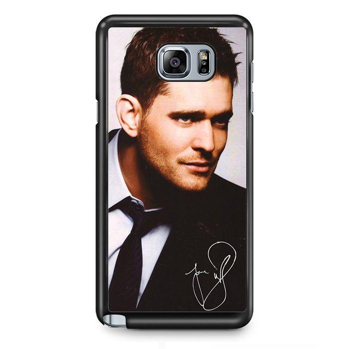 Michael Buble Cool TATUM-7128 Samsung Phonecase Cover Samsung Galaxy Note 2 Note 3 Note 4 Note 5 Note Edge