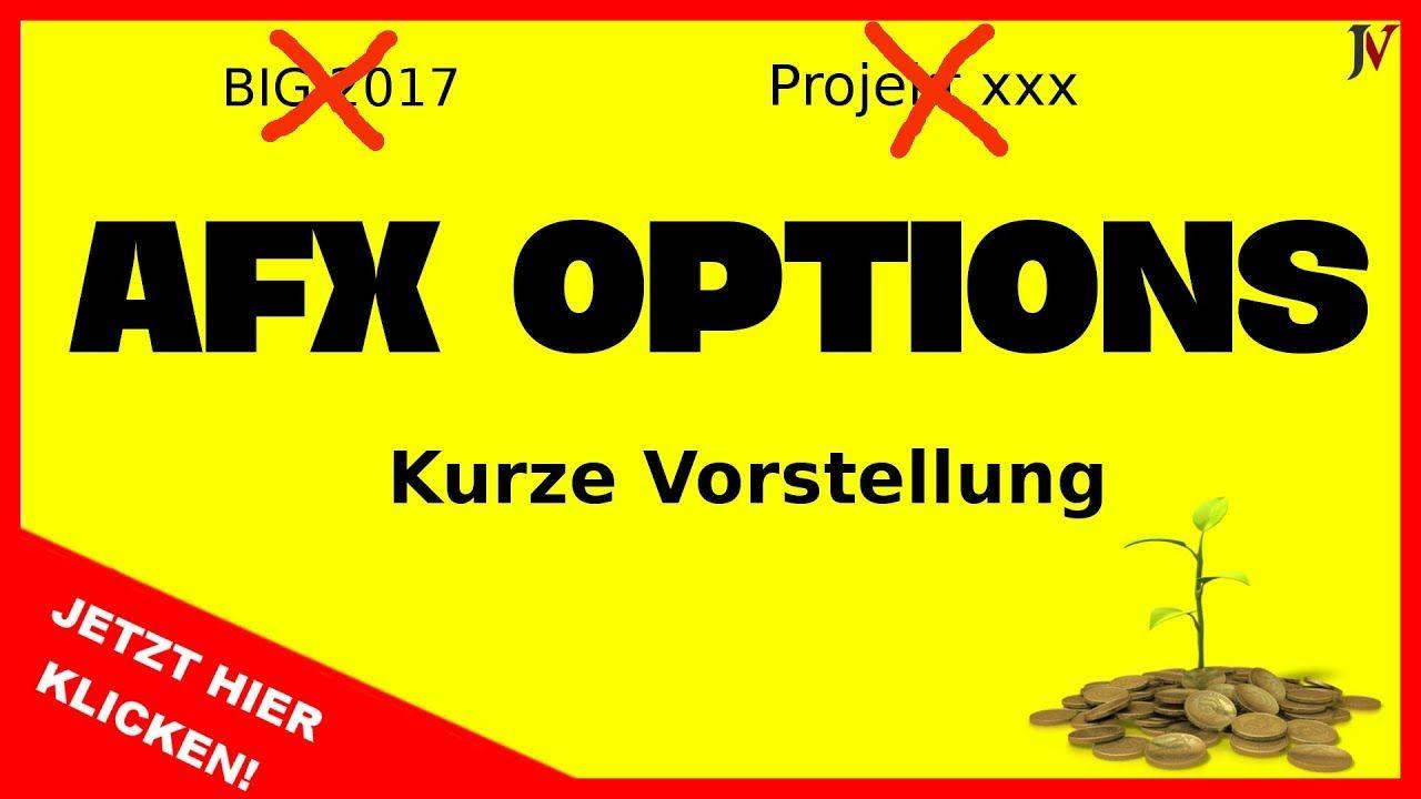 Inhalt: AFX Options - AFX Options Präsentation deutsch - AFX Options deutsch - Big Projekt 2017 -Projekt XXX    AFX Options    Endlich ist es soweit. Alle haben auf dieses Projekt gewartet und erst seit kurzem ist der Name bekannt. AFX Options. Das große Herbstprojekt auf das alle gewartet haben ist nun endlich da. Die richtige Präsentation kommt bald sobald die Seite online ist. Abonniert den Kanal damit ihr nichts verpassen könnt.    Über diesen Kanal   Was für die meisten bislang…