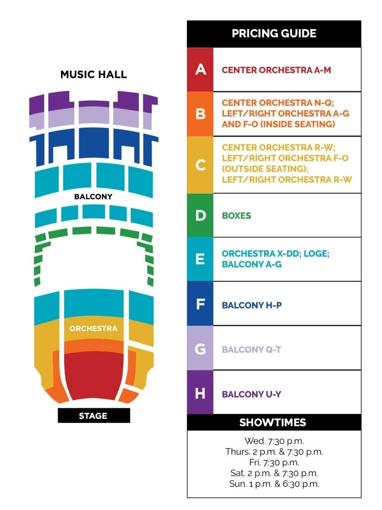 Kansas City Music Hall Seating Chart Di 2020